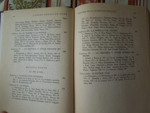historia literatura mexicana carlos gonzález peña