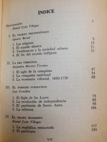 historia mínima de méxico - autores varios - ed. cdm - 1974