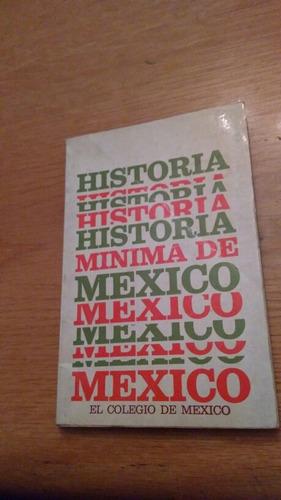 historia minima de mexico el colegio de méxico