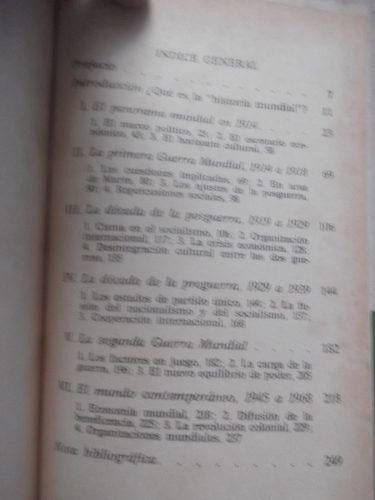 historia mundial 1914 1968 david thomson breviario tapa dura