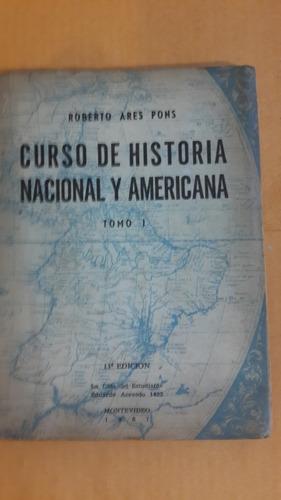 historia nacional y americana, roberto ares pons, 1967