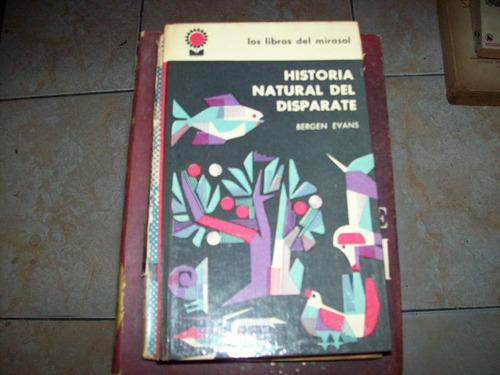 historia natural del disparate por bergen evans
