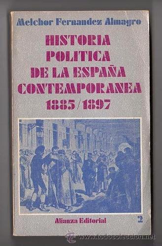 historia politica de la españa contemporanea 3 tomos