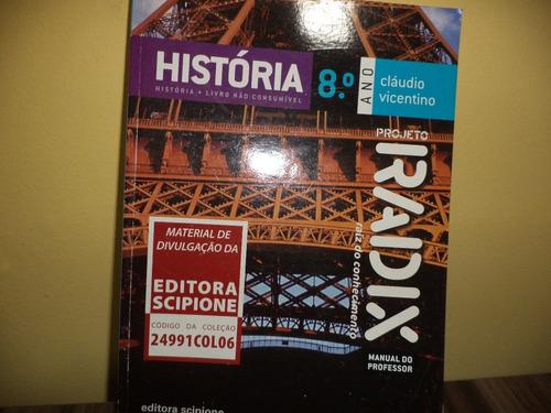 história projeto radix 8º ano