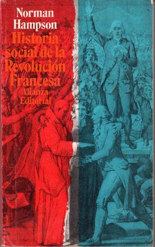 historia social de la revolución francesa - norman hampson