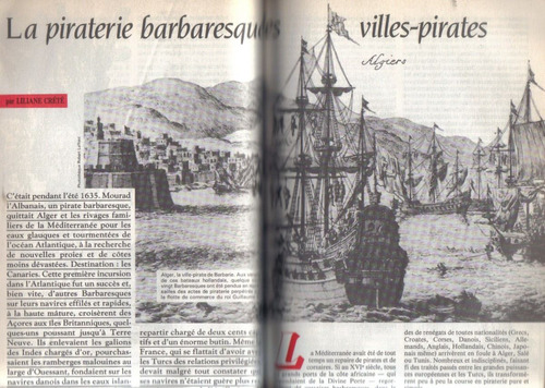 historia spécial la piraterie et la flibuste 1987 n° 484