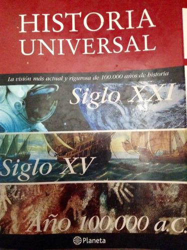 historia universal de 2 cd--rom y 5 tomos nueva en su caja.