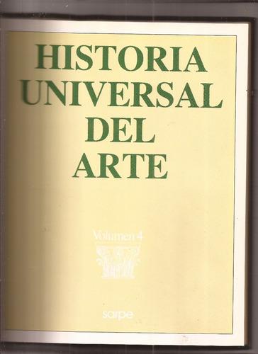 historia universal del arte la edad media tomo 4
