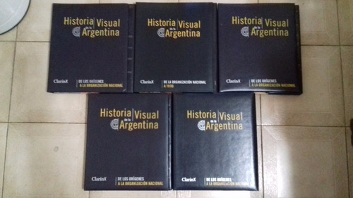 historia visual argentina cinco carpetas clarín