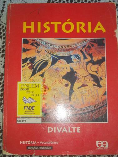 história  volume único  divalte