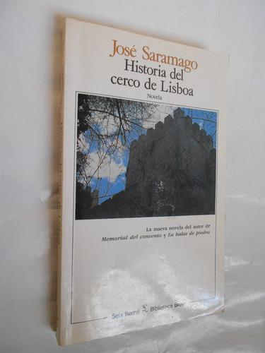 historial del cerco de lisboa, saramago, libro usado novela