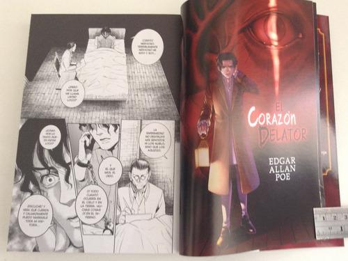 historias de edgar allan poe.  clásicos manga.