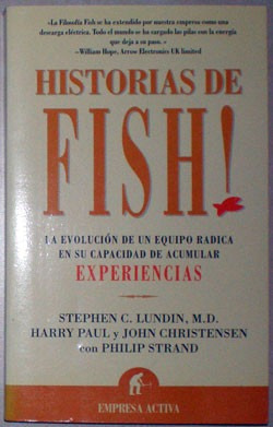 historias de fish! - lundin, stephen; christensen harry