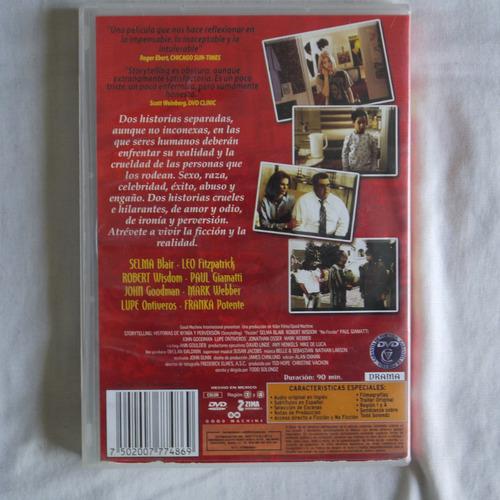 historias de ironia y perversion pelicula dvd