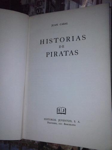 historias de piratas juan cabal