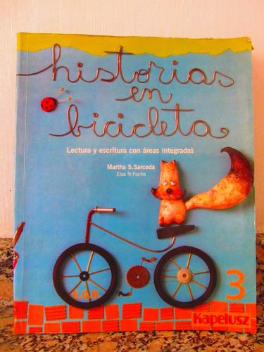historias en biciclieta 3 kapelusz lectura y escritura