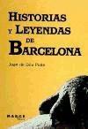 historias y leyendas de barcelona(libro )