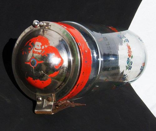 historical*-frasco vendesolo decorado caramelera orig.-envío