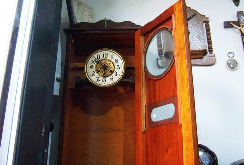 historical*- raro reloj armario de pie alemán garantía-envio