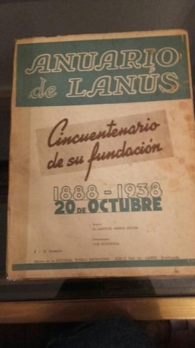 histórico anuario de lanús 1938.