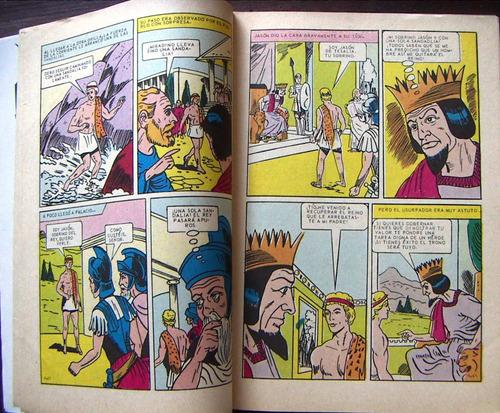 historieta clasicos infantiles,el vellocino de oro n°43