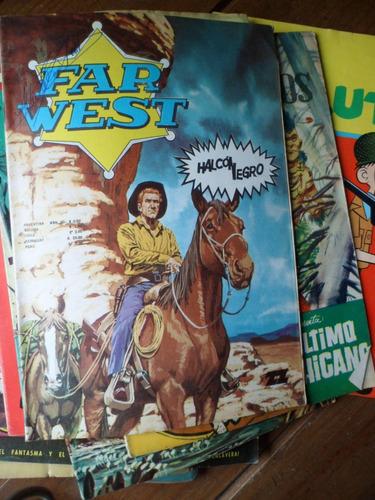 historieta far west halcon negro editorial zig zag 1970