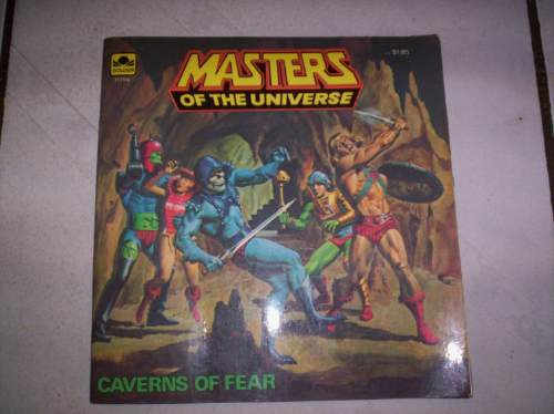 historieta masters of the universe caverns of fear 1983 +++