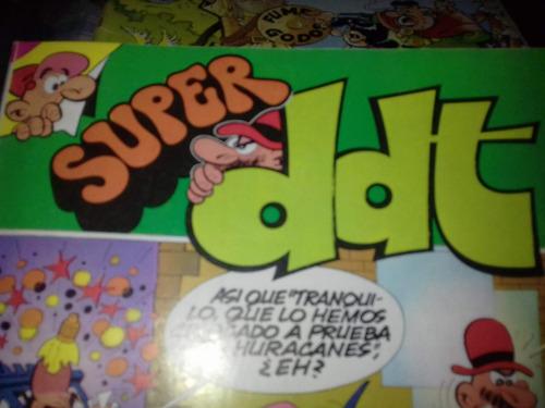 historieta super ddt ,numero 117,bruguera ,febrero de 1983