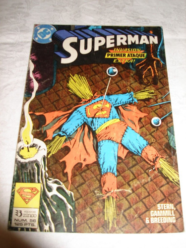 historieta superman nº 56 ediciones zinco de coleccion