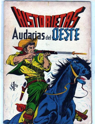 historietas del oeste  3  comics antiguos  50.00 c/u
