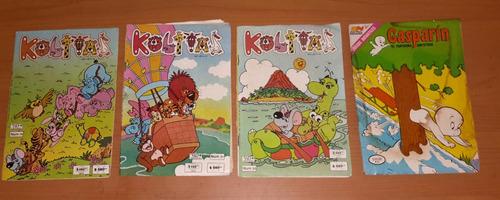 historietas novaro 80's gasparin archie kolitas y otros