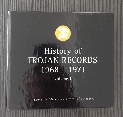 history of trojan records 1968-1971 volume 1 2cds bob marley