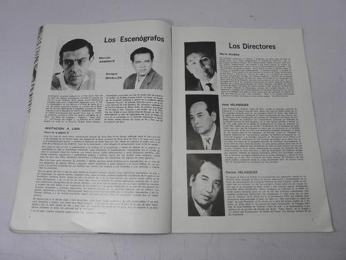 histrion revista turistica peru. años 60