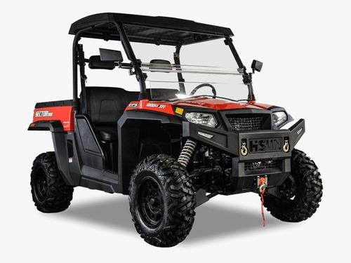 hisun utv sector e1 electrico 4 x 4, 27.5 hp 48v 0 klm 2020