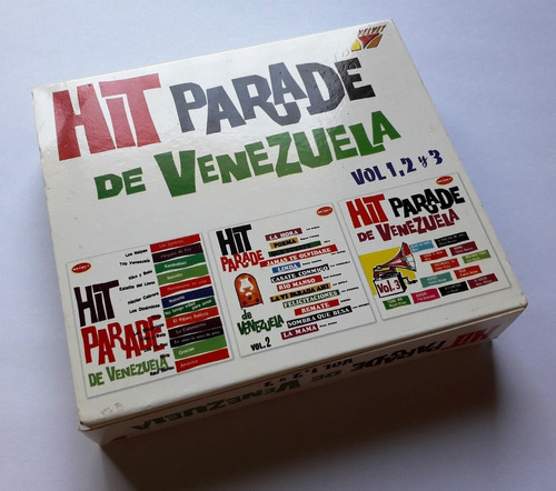 hit parade de venezuela 3 cds