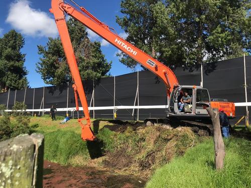 hitachi zx 200 brazo 16.5 metros