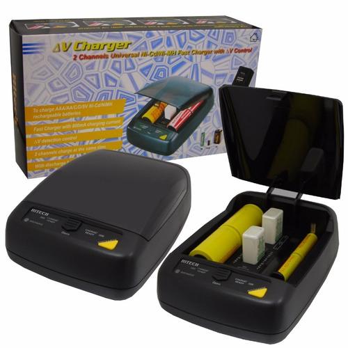 hitec cargador universal de pilas modelo ic-6006