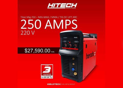 hitech 250 amps