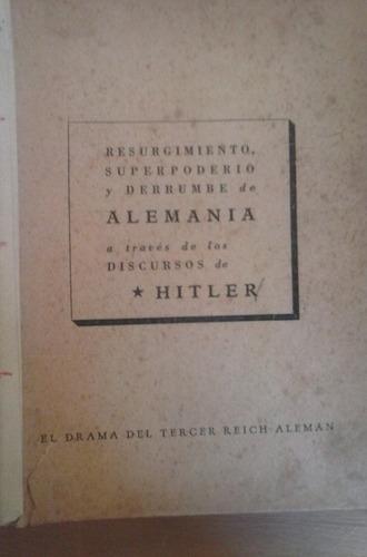 hitler el drama de alemania a través de sus discursos cronos