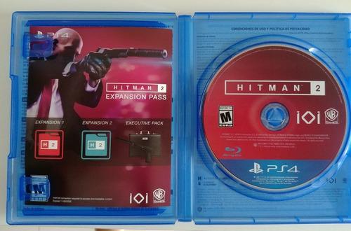 hitman 2 gold edition ps4 físico