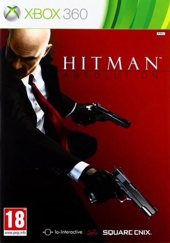 hitman absolution -  xbox 360 - usado