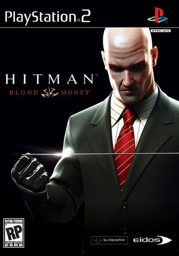 hitman blood money - ps2 original caja abierta