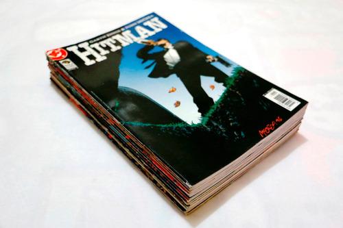 hitman - garth ennis - coleção completa + origem!!! 14 hqs!!