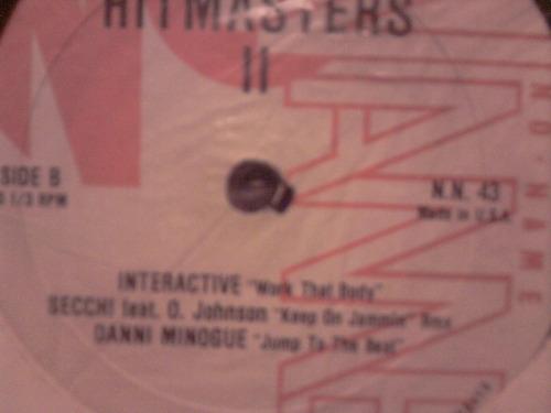 hitmasters 2 vinilo maxi usa