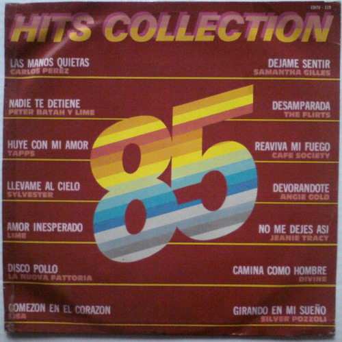 hits collection '85 (varios) acetato vinil 80's high energy
