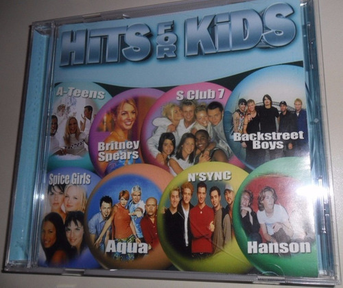 hits for kids cd spears a teens n sync spice g aqua tarkan