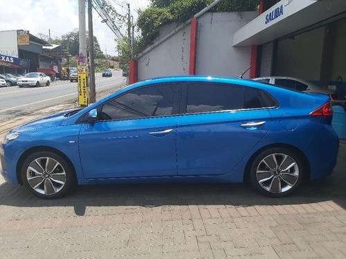 hiunday ioniq hibrido azul impecable y precio excelente