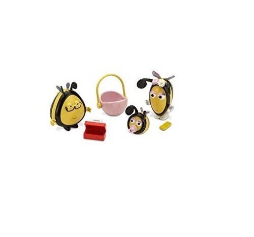 Hive Family Set - 3 Personagens - Novo Com Caixa Envelhecida
