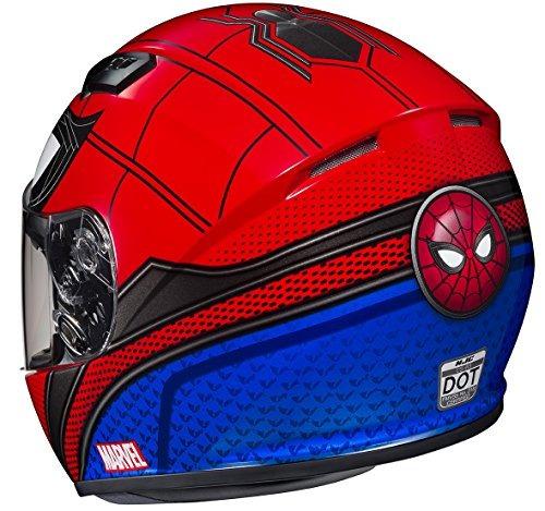 hjc cs-r3 casco - spiderman homecoming casco estilo cara com