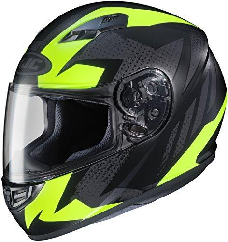 hjc helmets cs-r3 casco treague para moto de rostro completo